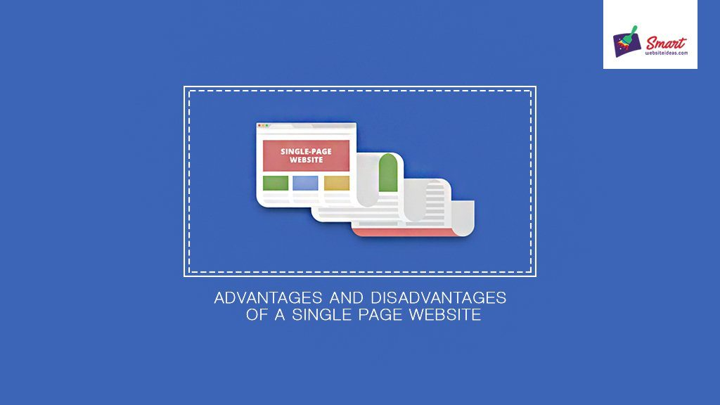 website advantages and disadvantages