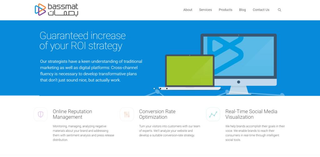 Bassmat: Digital Marketing agency in UAE