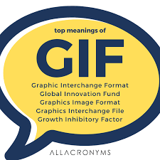 top meaning of gif